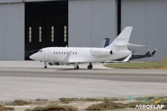 Dassault Falcon 2000 LXS/ Foto-André Magalhães-Aeroflap
