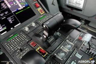 Manetes de potência do KC-390
