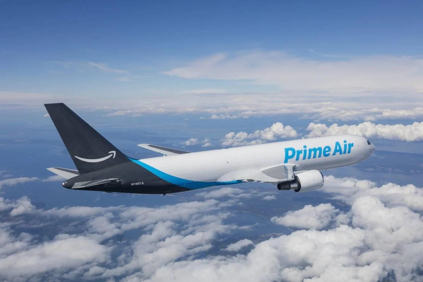 Em crescimento, Amazon adiciona mais 12 aviões Boeing 767F na Prime Air | Aeroflap