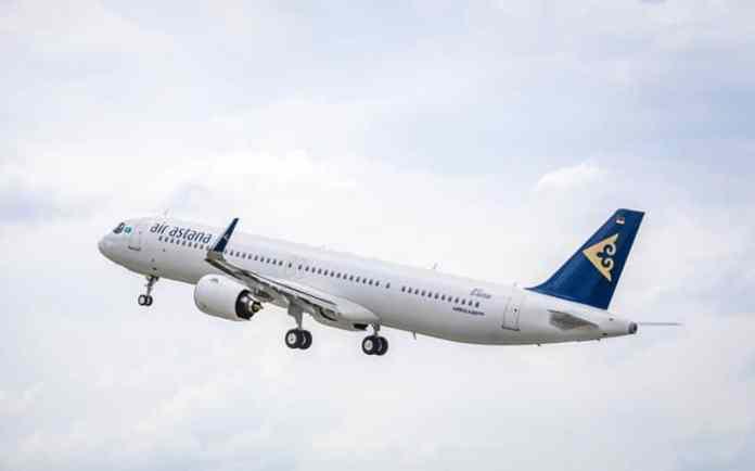 Air Astana 2021 Companhia Aérea