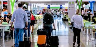 Passageiros Aeroportos Máscaras