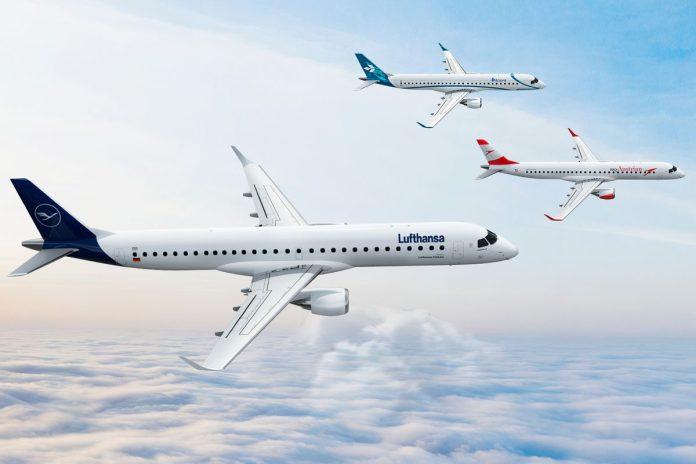 Embraer E-Jets Lufthansa