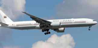 Índia Boeing 777 Presidencial