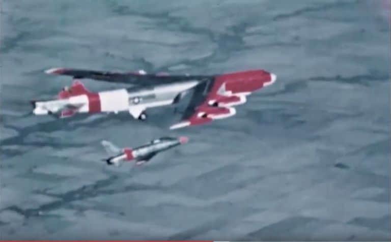 B-52 estabilizador vertical