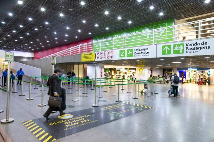 Aeroporto Turismo Segurança Covid-19