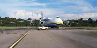 Antonov An-124 Aeroporto de Belém