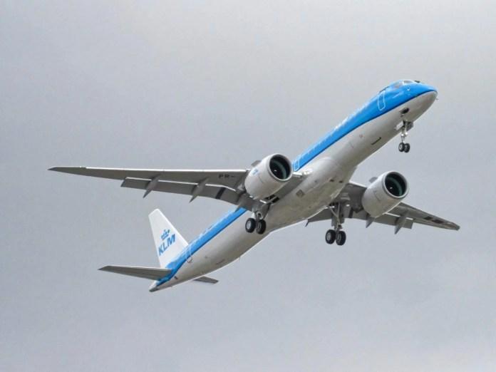 Embraer E195-E2 KLM