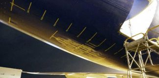 Boeing 747 Tailstrike