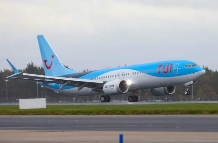 TUI Airways Boeing 737 MAX Europa