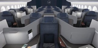 Lufthansa Classe Executiva Boeing 777X