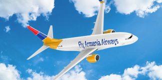 Boeing 737 Fly Armenia Airways