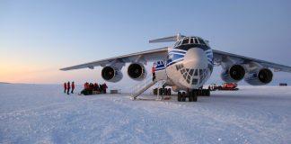 Antártica Ilyushin IL-76 Volga Dnepr