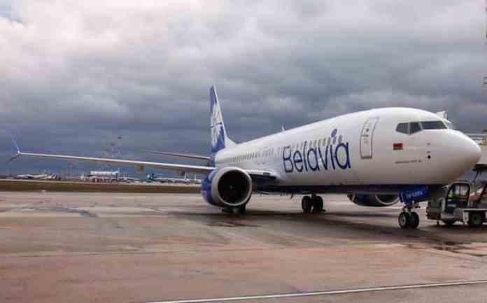 Boeing 737 MAX Belavia