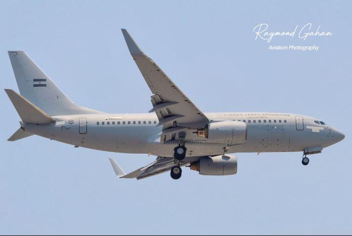 Boeing 737-700 Força Aérea Argentina