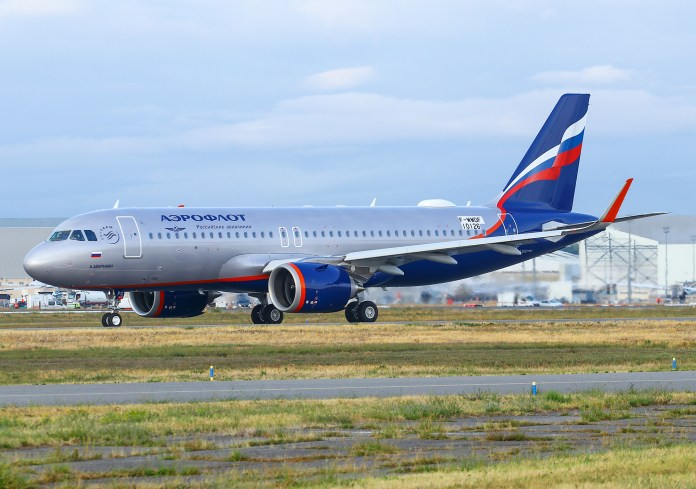 Airbus A320neo Aeroflot