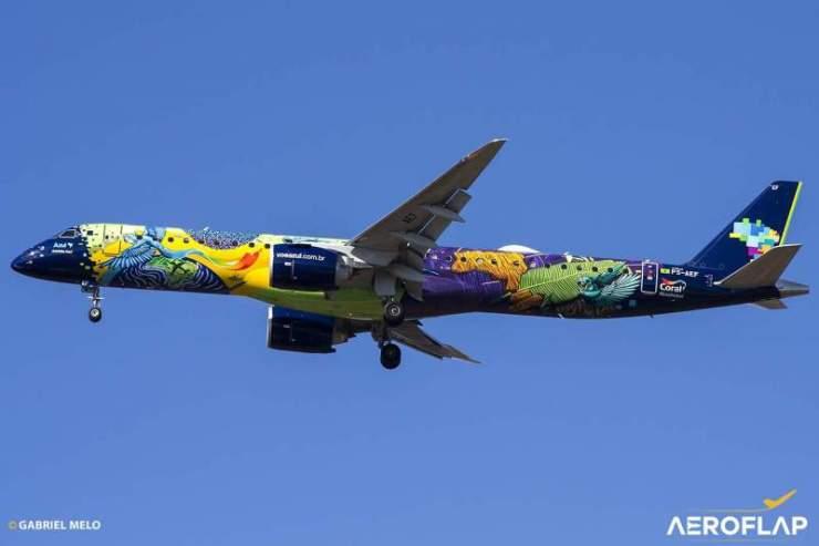 Embraer 195-E2 Azul PS-AEF