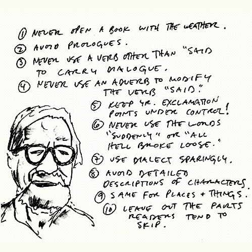 Writing Advice from Elmore Leonard