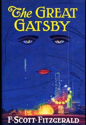 The Great Gatsby 1925 Cover (First Edition)