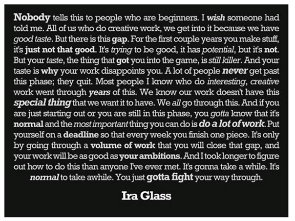 Ira Glass on Storytelling