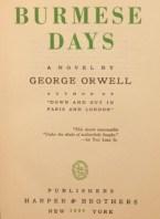 George Orwell eBooks Burmese Days