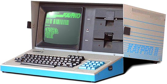 Kaypro with Wordstar
