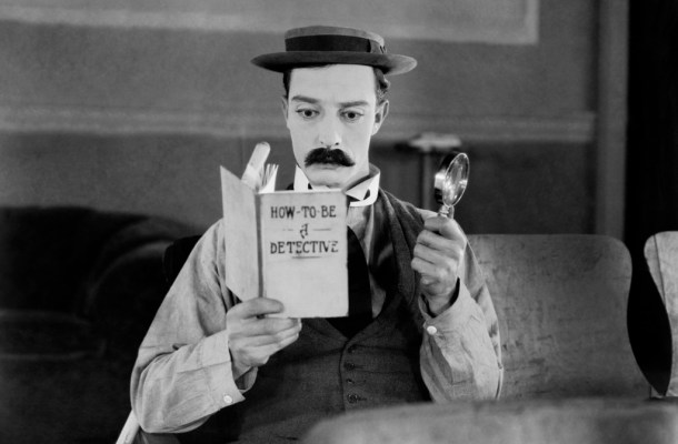 Twenty Rules for Writing Detective Stories - Buster Keaton Title Image