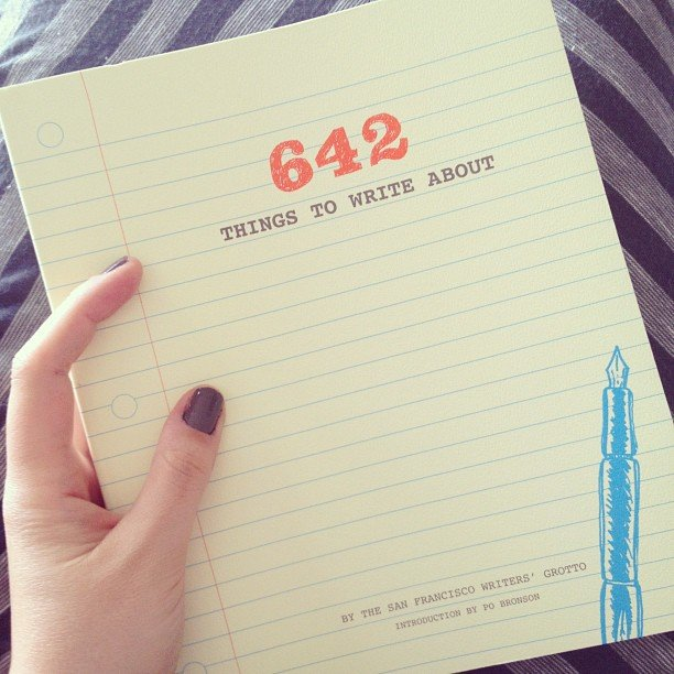 christmas gifts for writers 642 things to write about