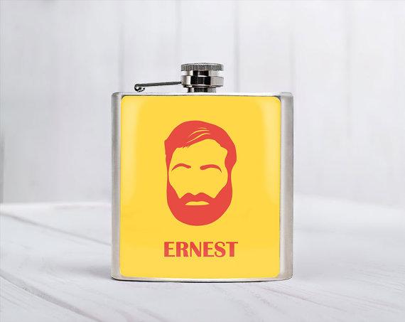 Ernest Hemingway Flask