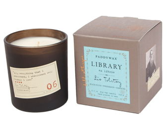 Leo Tolstoy Library Candle