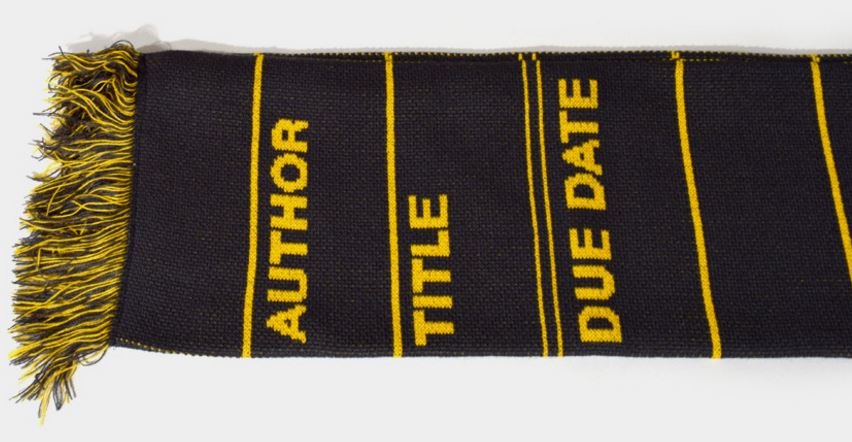 library-card-scarf
