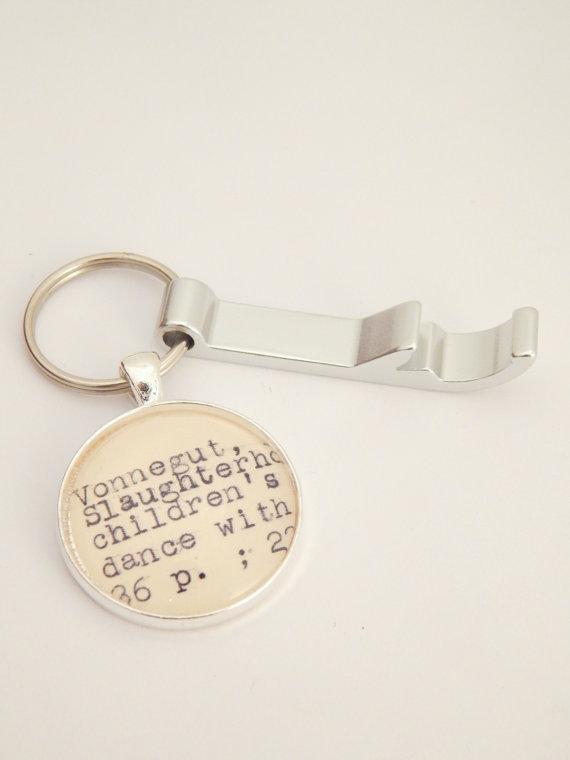 Vonnegut Bottle Opener - Gifts for Writers
