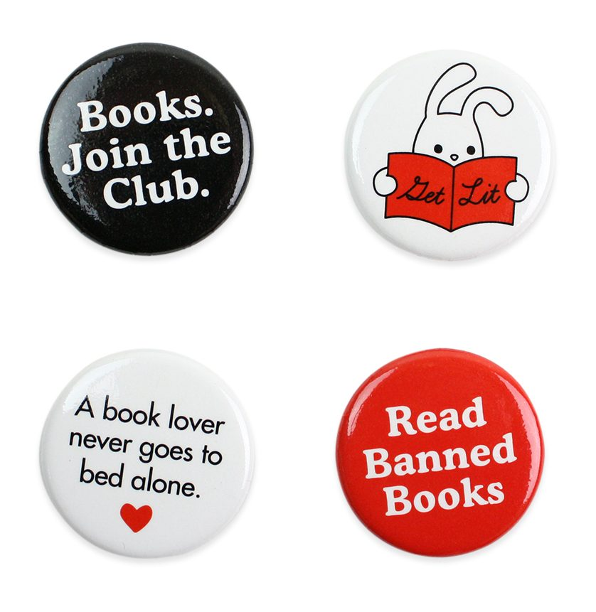 Gifts for Writers 2018 -Book Lover Magnet Set