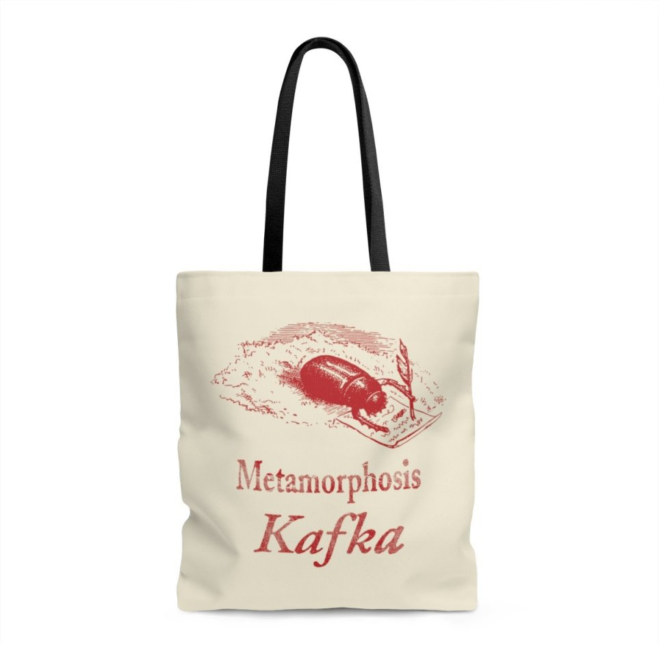 Gifts for Writers 2018 - Kafka Tote Bag