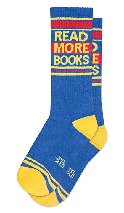 Gifts for Writers 2018 -Read More Books Socks