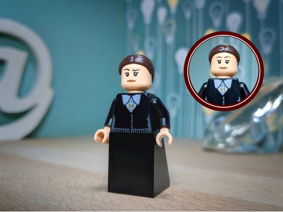 Gifts for Writers 2018 -Virginia Woolf Lego Figure