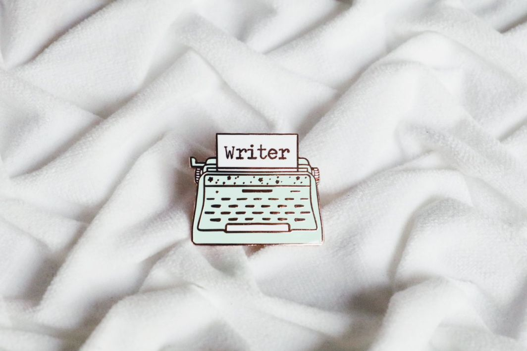 Gifts for Writers 2018 - Writer Enamel Pin
