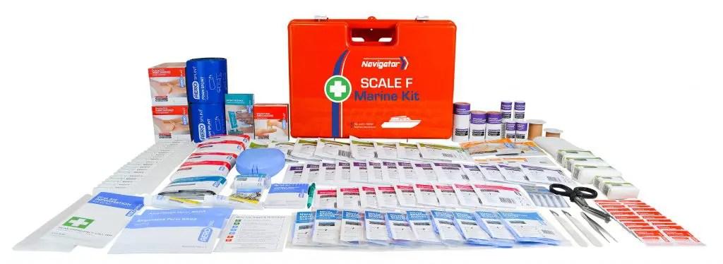 Aerokit AFAKFM Navigator Marine kit case and contents