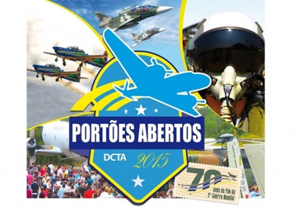 Neste final de semana acontece os Portões Abertos do DCTA em São José dos Campos.