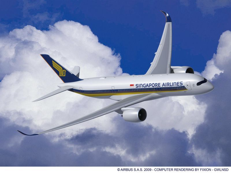 A350-900-SINGAPORE-AIRLINES