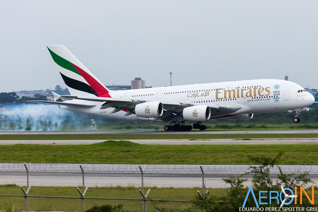 Como foi o primeiro e único voo comercial do A380 ao Brasil. Com fotos inéditas.