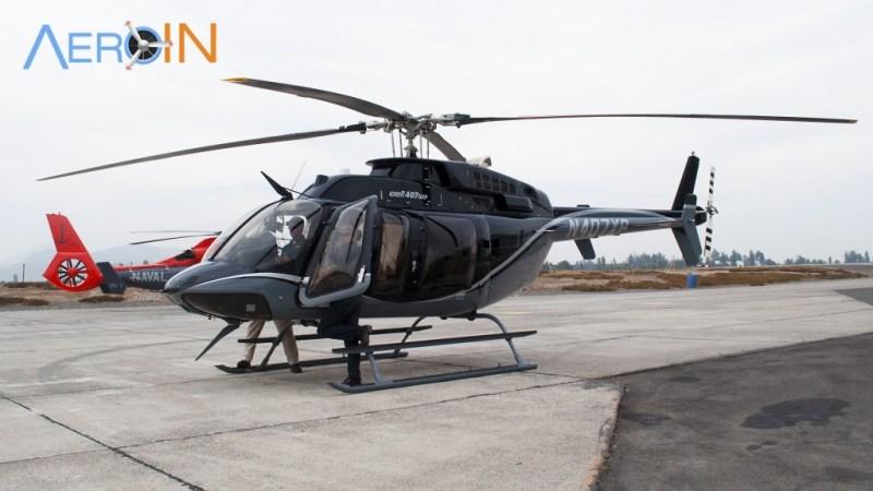 Bell 407 Externa