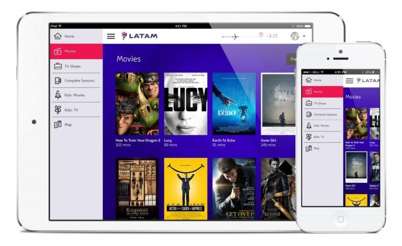 LATAM Entertainment Site Portal