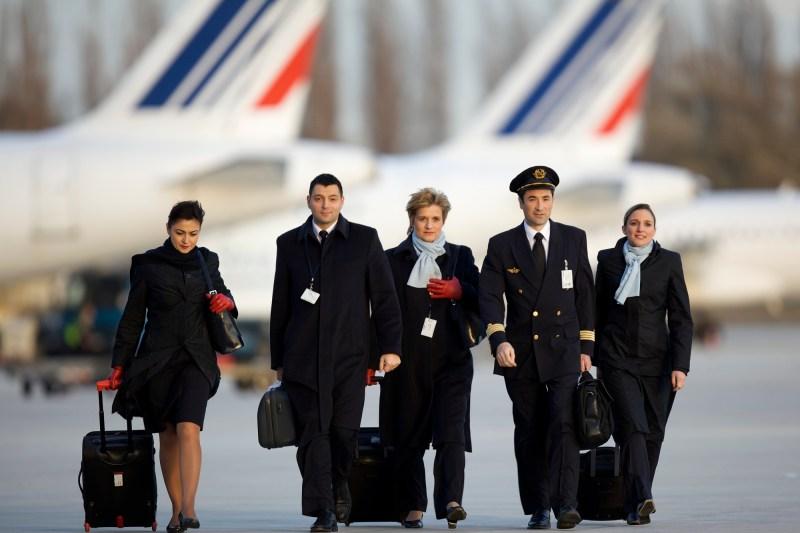 air france tripulacao comissario piloto