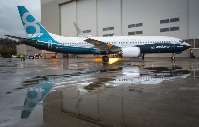 Avião Boeing 737 MAX 8