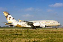 Avião Airbus A380 Etihad