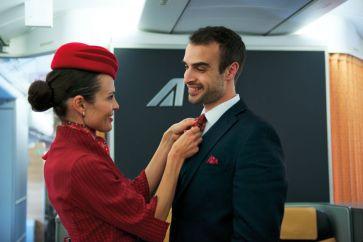 New uniforms - cabin crew