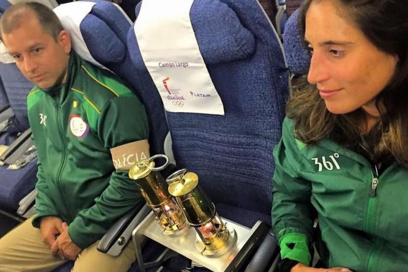 Tocha Rio 2016 LATAM Fogo