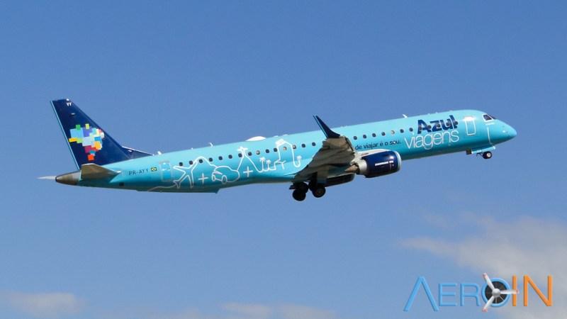 Azul Viagens Embraer 195