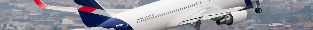 Avião Boeing 767-300L LATAM
