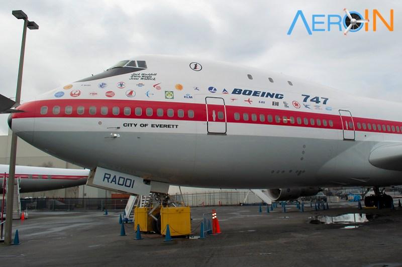 Primeiro 1st 1º Boeing 747 747-100